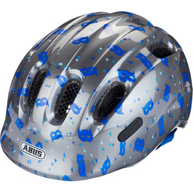 ABUS Smiley 2.1 Helmet Kids blue mask